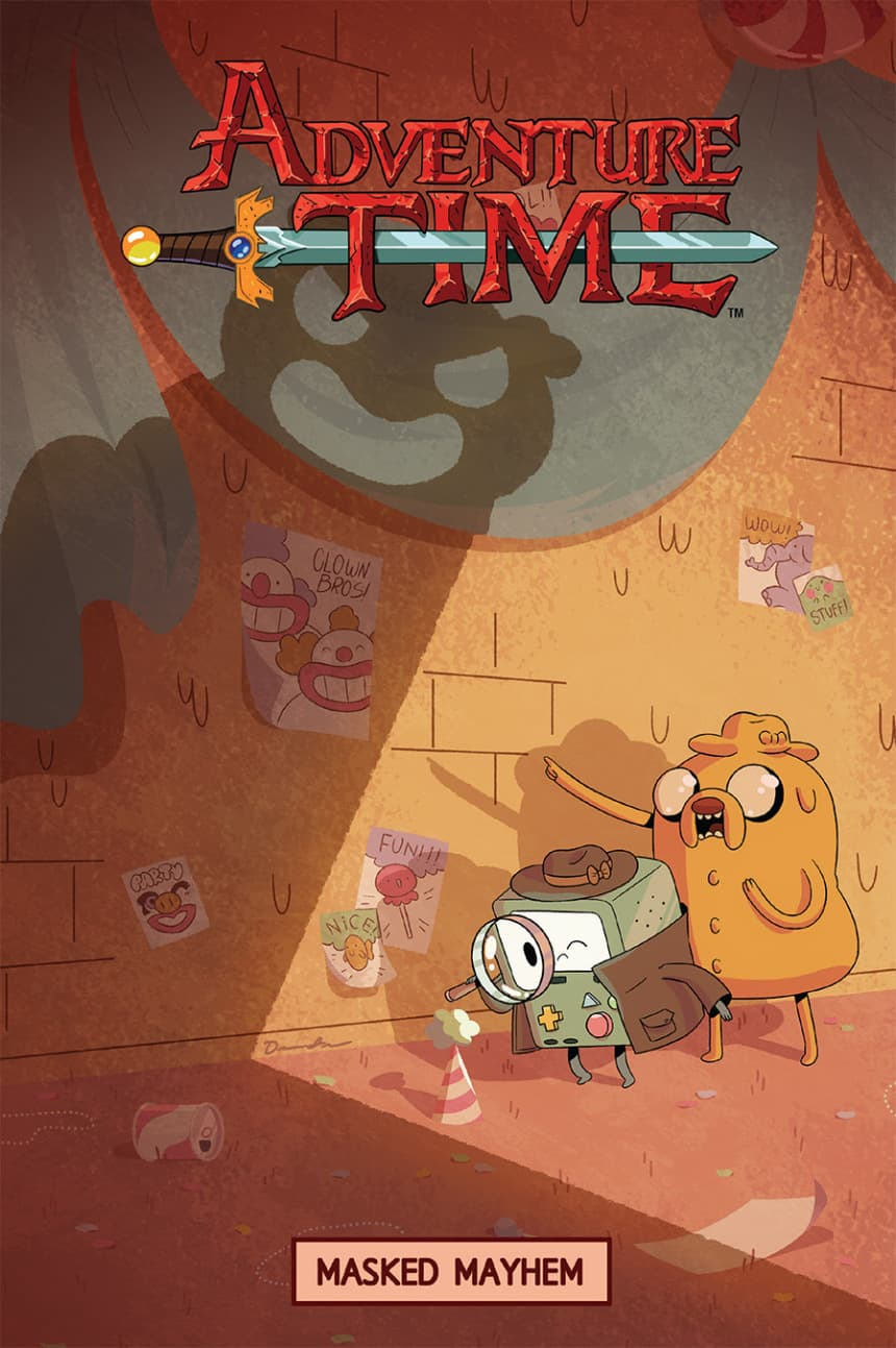 adventure-time-masked-mayhem-cover-by-drew-green