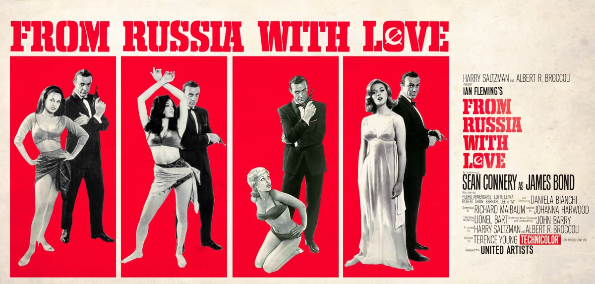 'From Russia With Love' remains sans pareil