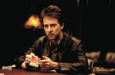 The cocky and slick Worm introduced the 'mechanic's grip' and the (illegal) art of poker hustling to the masses in Rounders.
