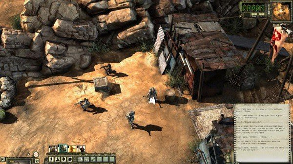 Wasteland 2 focuses on tactical combat rather than an individual story.