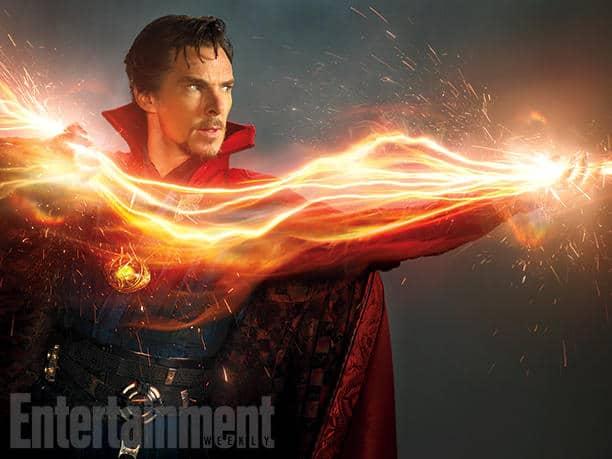 Benedict Cumberbatch as Doctor Strange (via Entertainment Weekly)