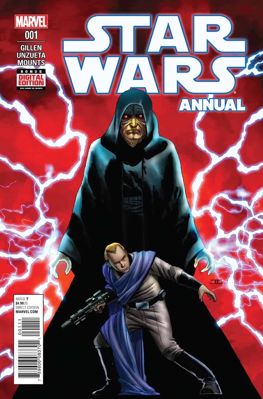 Star Wars Annual #1 - Cover