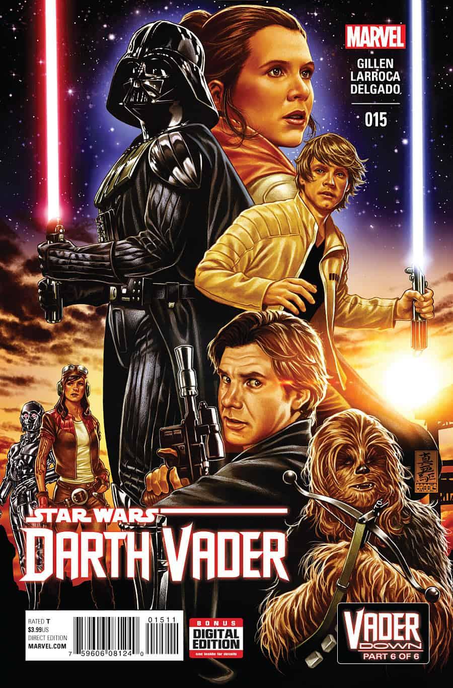 Darth Vader #15 - Cover