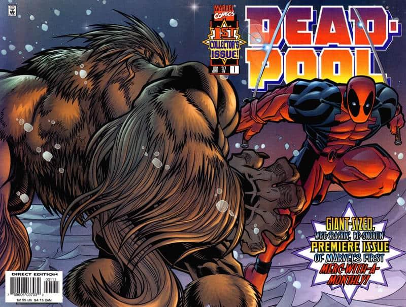 Deadpool #1 - cover