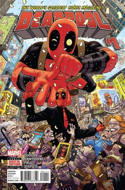 Deadpool (2016) #1 - cover