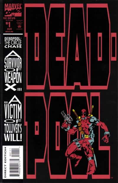 Deadpool Circle Chase #1 - cover