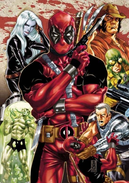 Deadpool Collage