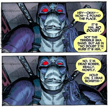 Deadpool-- art by Jerome opena