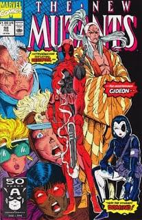 New Mutants #98 - Cover