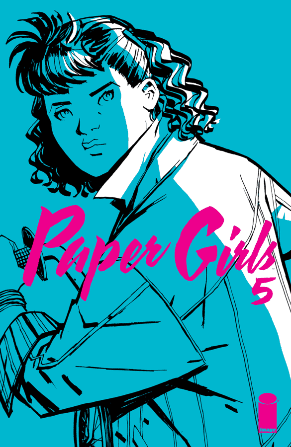 Paper Girls #5 Cover