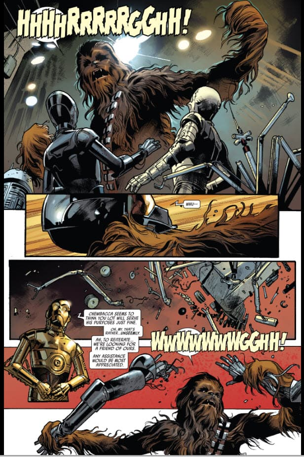 Star Wars #10 - The Wookie and the Protocol Droid