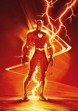 Wally West by Michael Turner