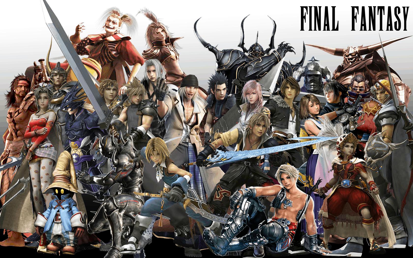 Resultado de imagen para saga Final Fantasy