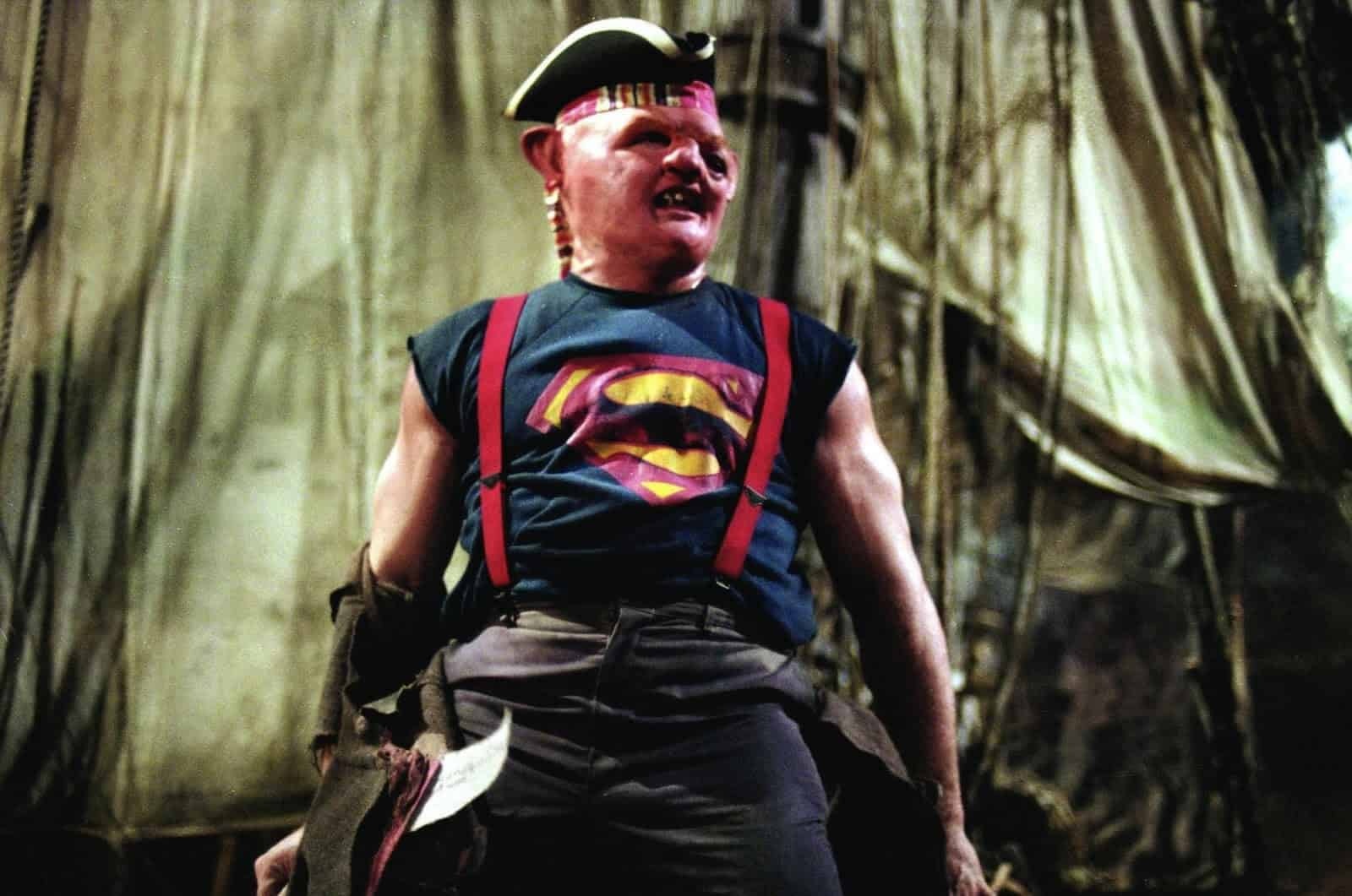 Image result for goonies sloth superman