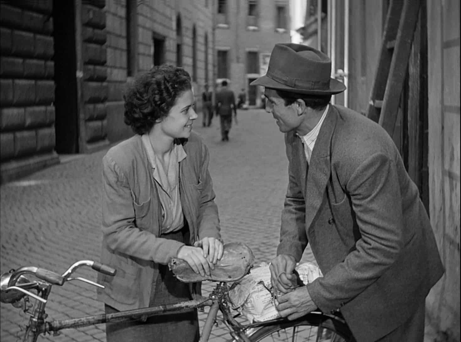 the example of neorealism in the bicycle thief Riveted by my dinner with andre and, of course, bicycle thieves, etc  still  makes me uncomfortable:  to ask 'what is neo-realism' is to ask.