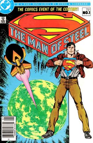 Superman - Man of Steel #1