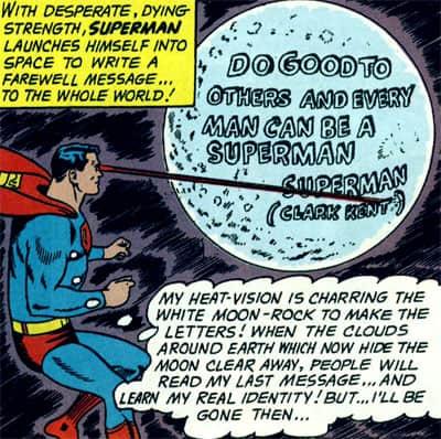 Superman - Message