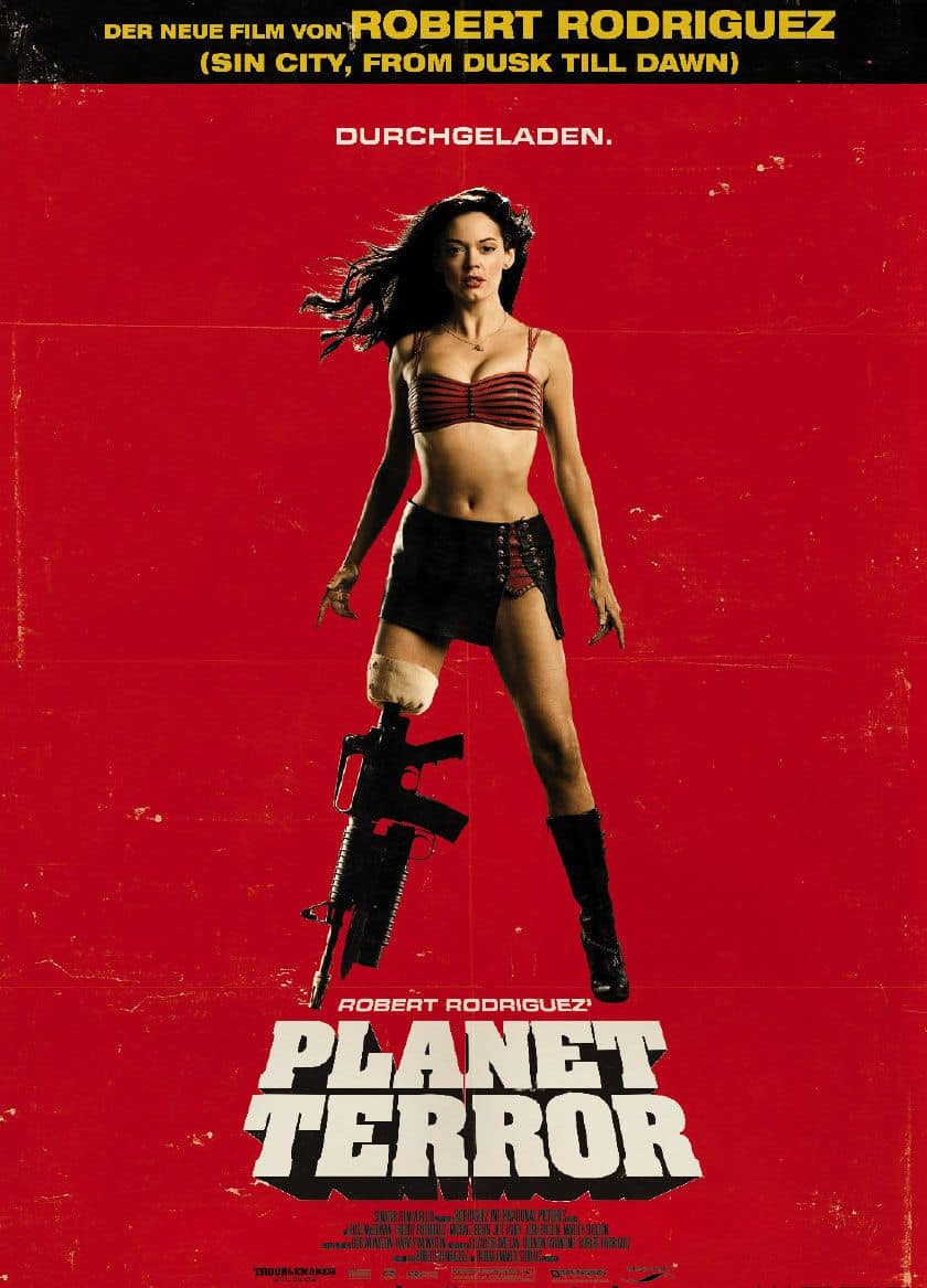 Film Fury #49: u0026#39;Planet Terroru0026#39; grinds out a delightfully ...