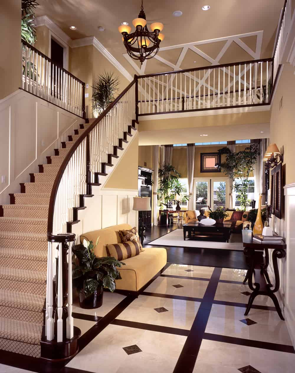 Open Foyer Stairs : Top best foyer designs
