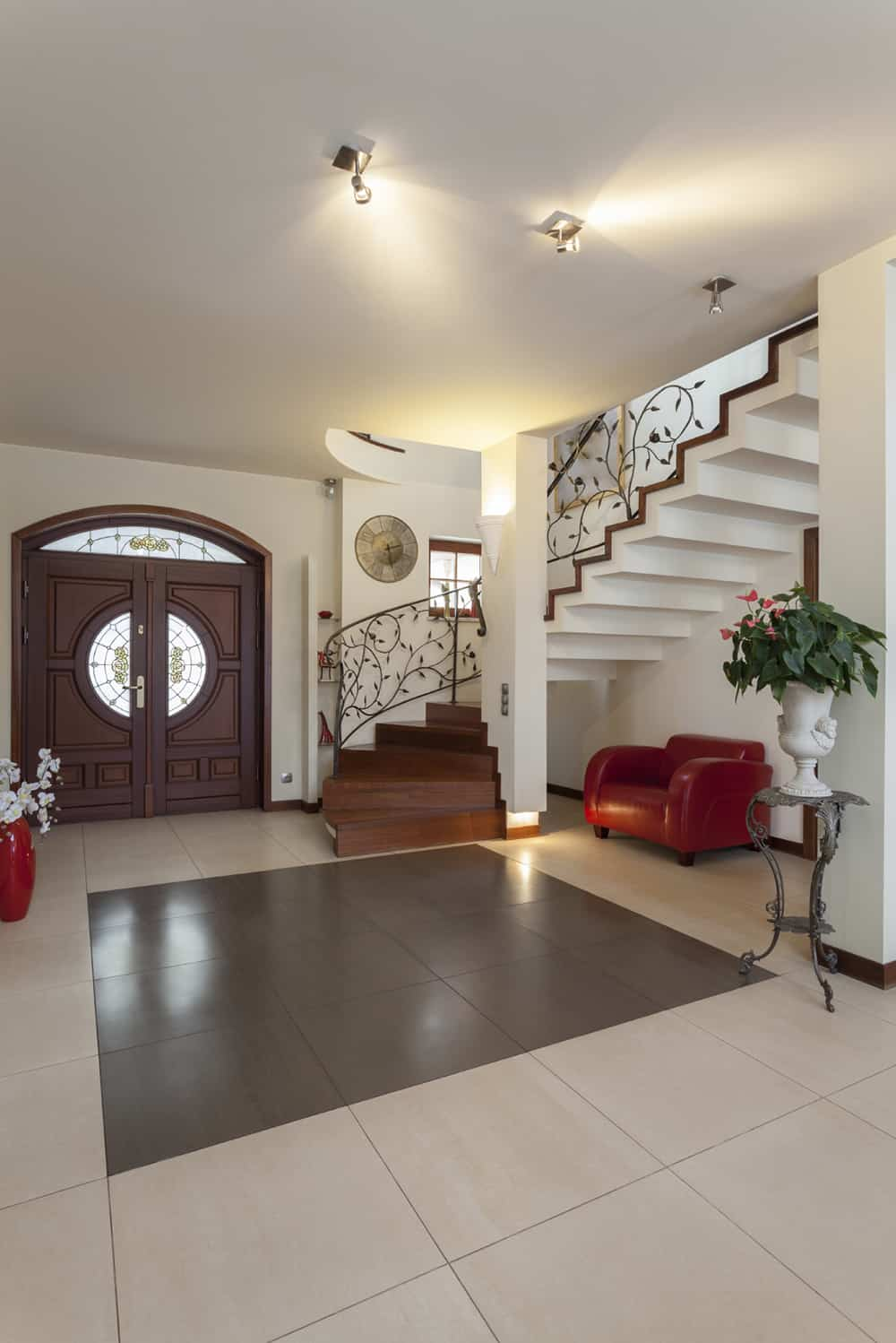 Elegant Foyer Designs : Design foyer elegant