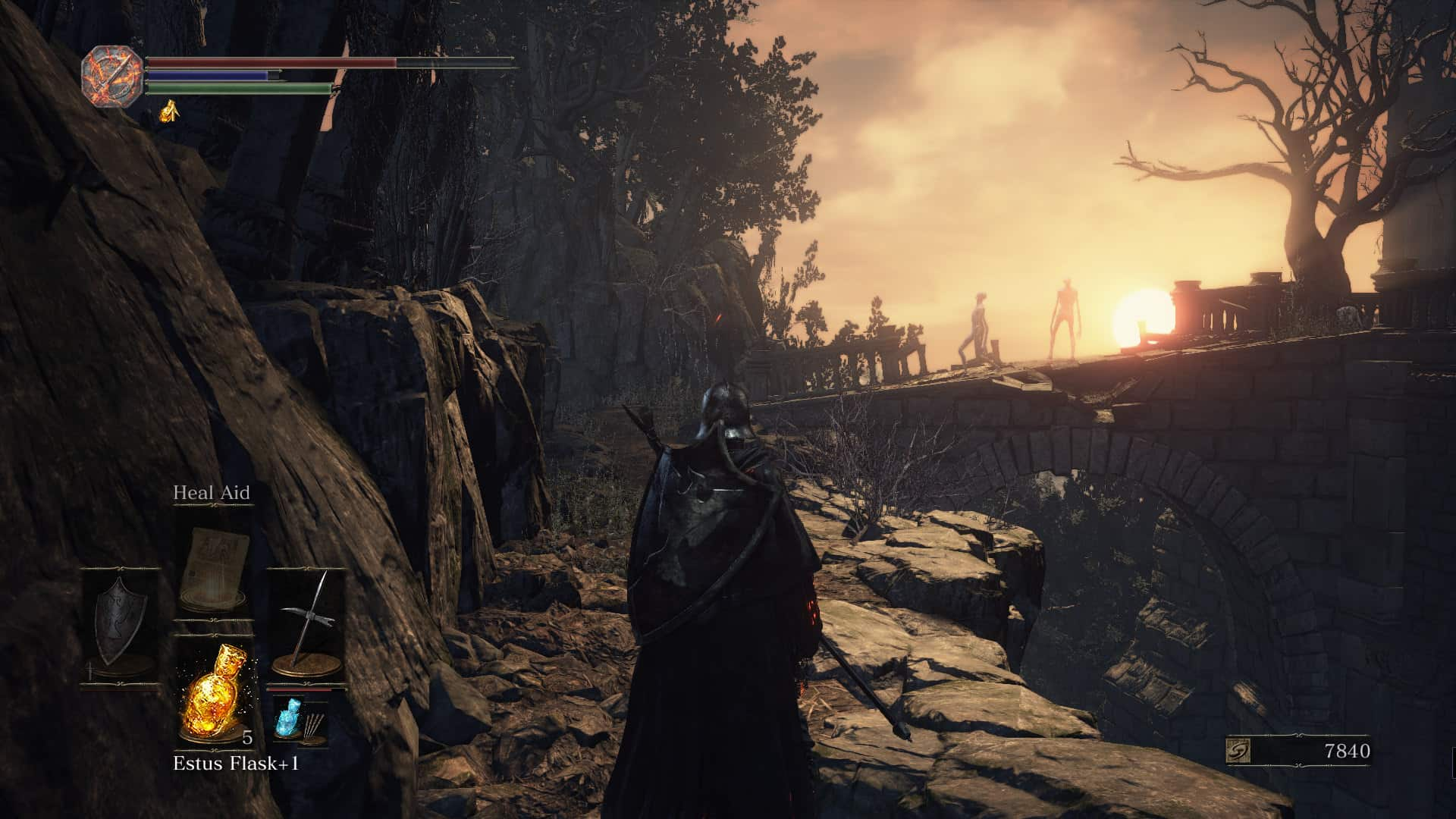 There's not shortage of grand sights in FromSoftware's latest.
