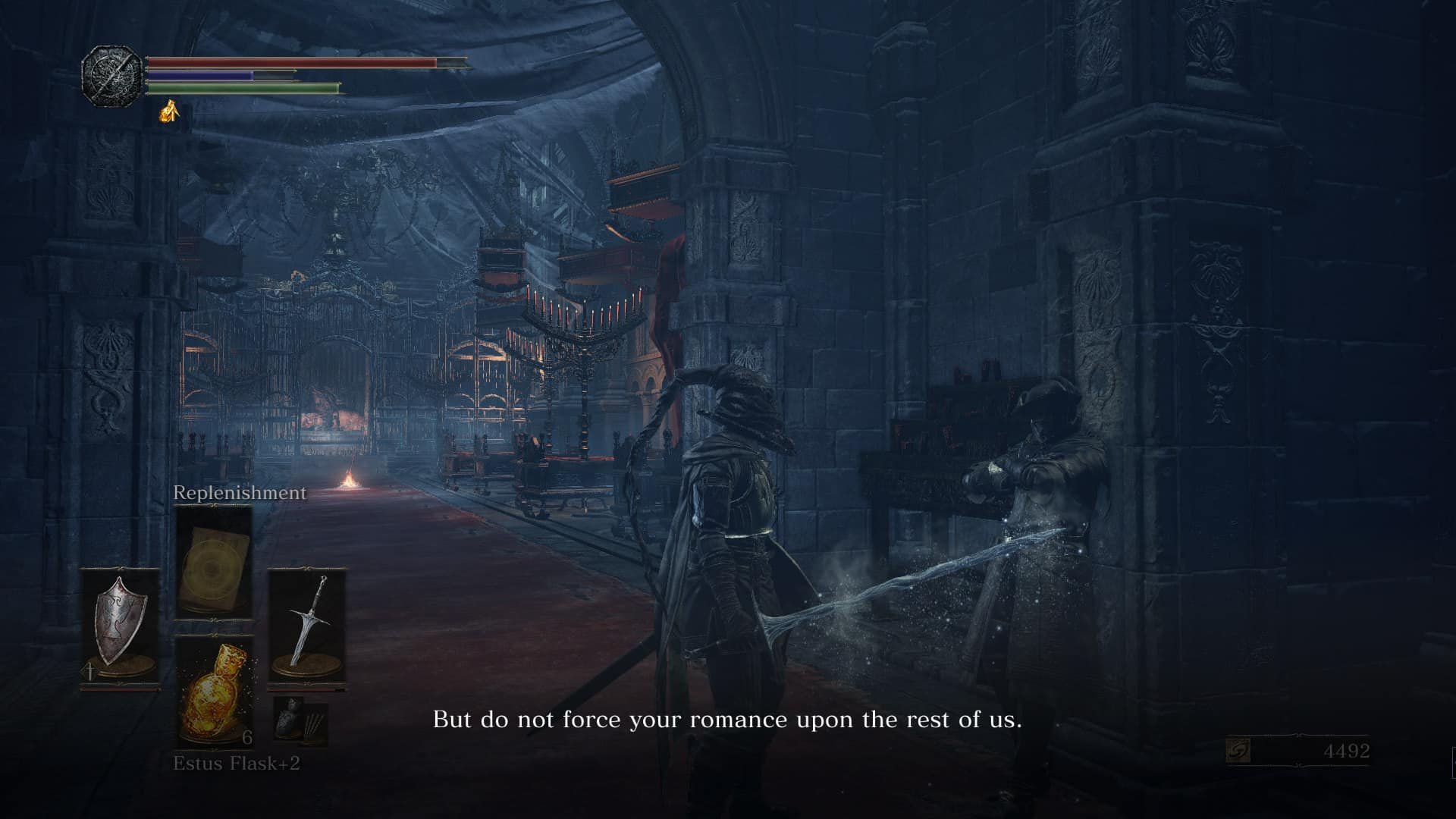 Dark Souls 3 has an interesting cast of characters, even if a few could use a bit more dialog.