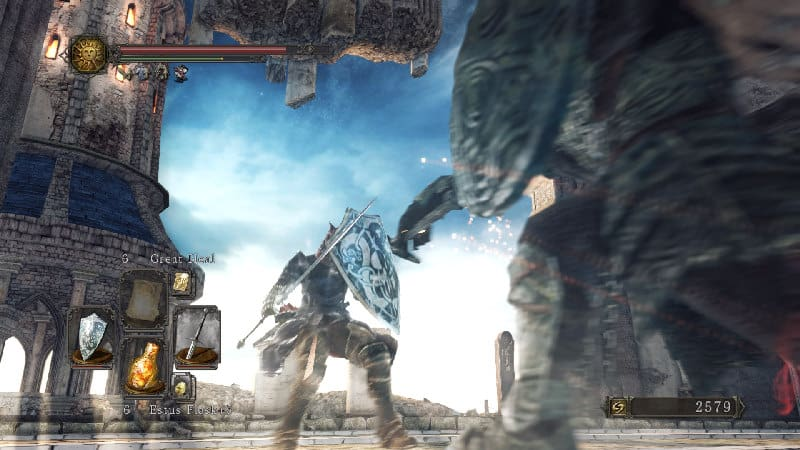 Souls-style combat demands that players learn to adapt, and commit to every movement.