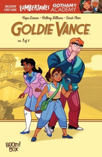 GoldieVanceCover
