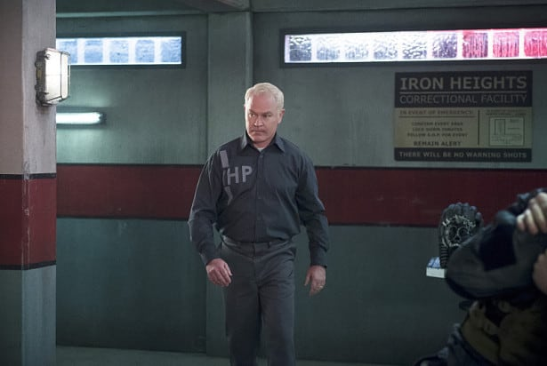 """Arrow -- """"Eleven-Fifty-Nine"""" -- Image AR418a_0027b.jpg -- Pictured: Neal McDonough as Damien Darhk -- Photo: Diyah Pera/The CW -- © 2016 The CW Network, LLC. All Rights Reserved."""