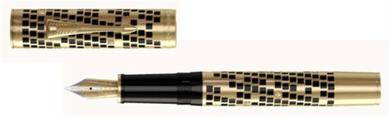 10-Parker Duofold Fountain Pen