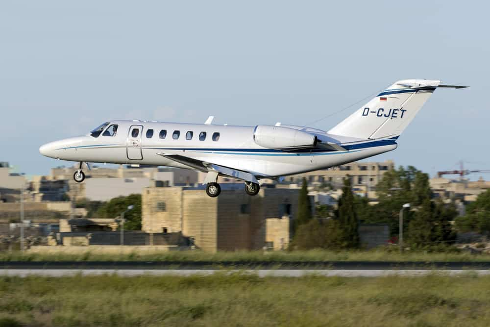 Cessna Citation CJ3 - 478 Miles per Hour