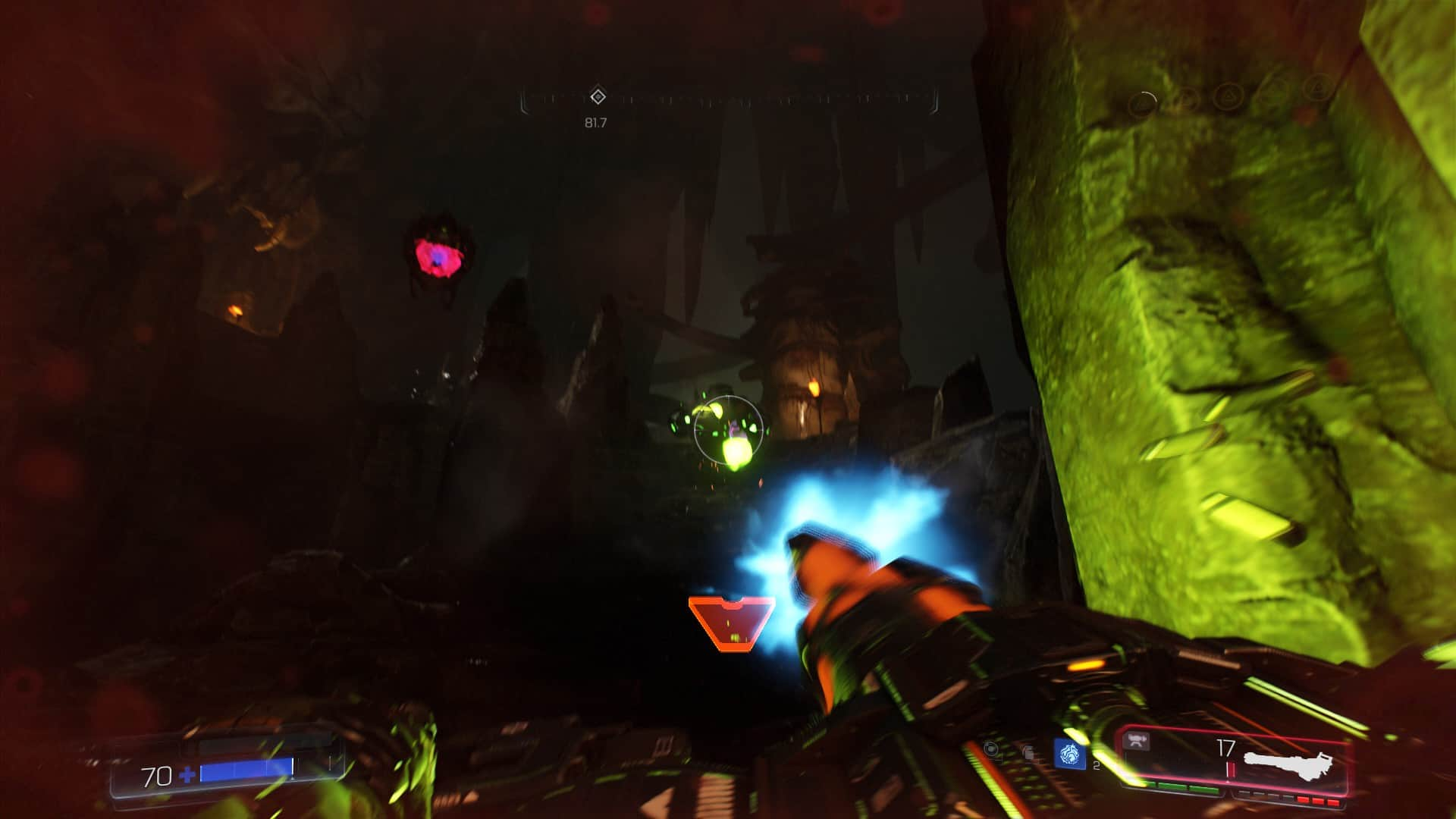 Classic enemies integrate themselves into Doom's focus on pulse-pounding gunplay.