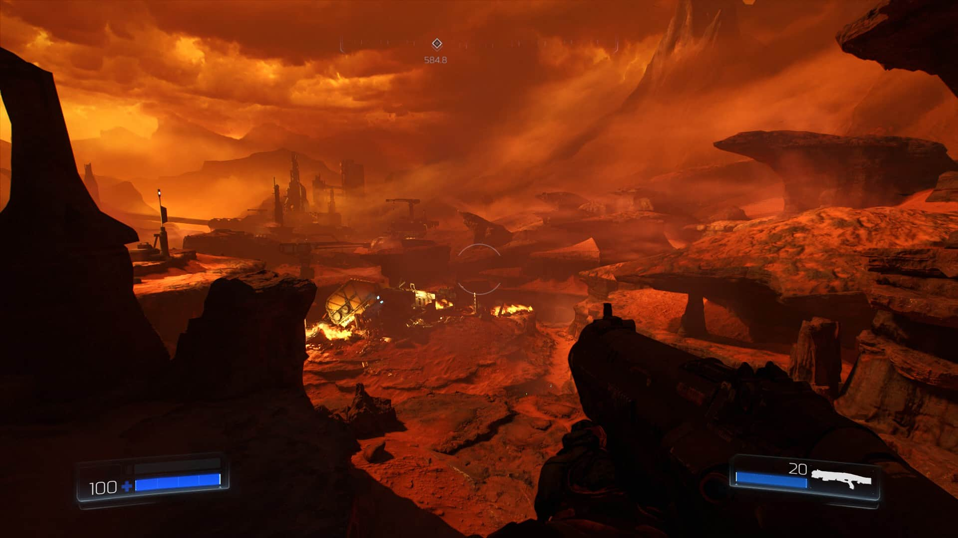 Doom is a graphical powerhouse—players are treated to gorgeous visuals from the very first moments of the game.