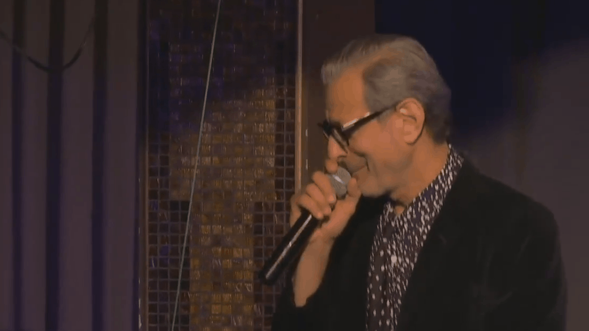 Jeff Goldblum's Night Club Act is Everything you Want it to Be