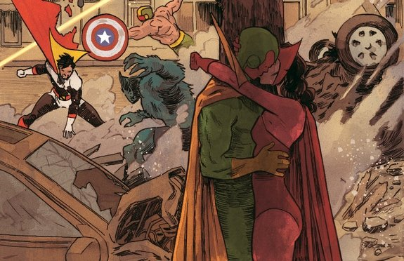 'Vision' #7 looks at relationships past