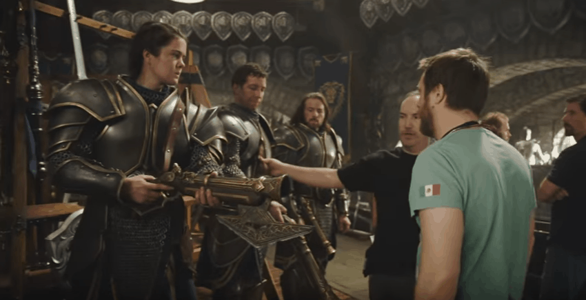 Go Inside the 'Warcraft' Armory – Hey Look, Physical Sets!