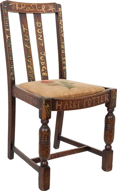 JK Rowling's Harry Potter Chair