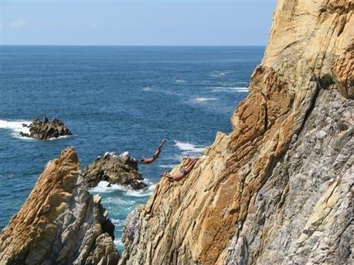 La Quebrada Cliff Divers – 148 feet, La Quebrada