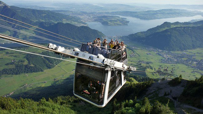 StanserhornCabrio, Nidwalden, Switzerland – 6,233 feet