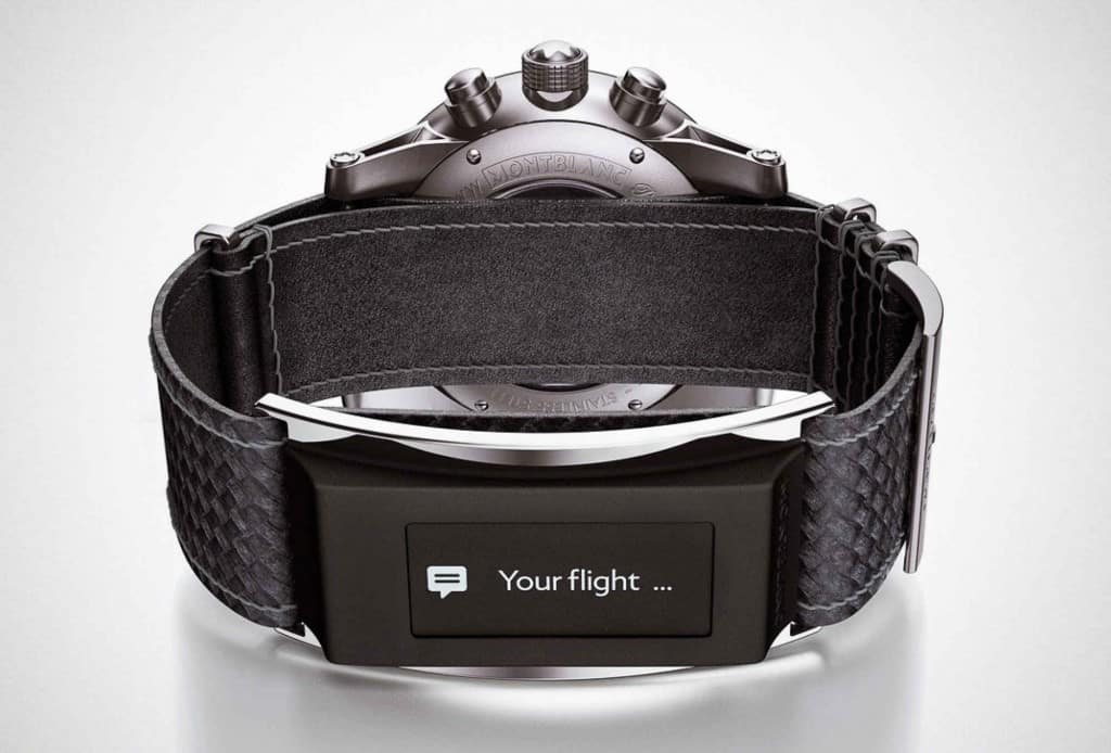 The Montblanc Timewalker with e-Strap