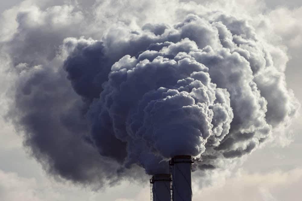 Harmful gases emitted from factories is one of the basic causes of air pollution.