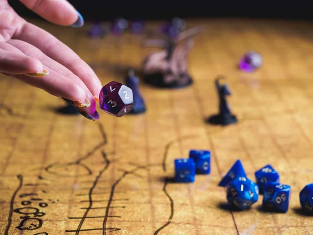 Rolling dice in a game is an example of classical probability.