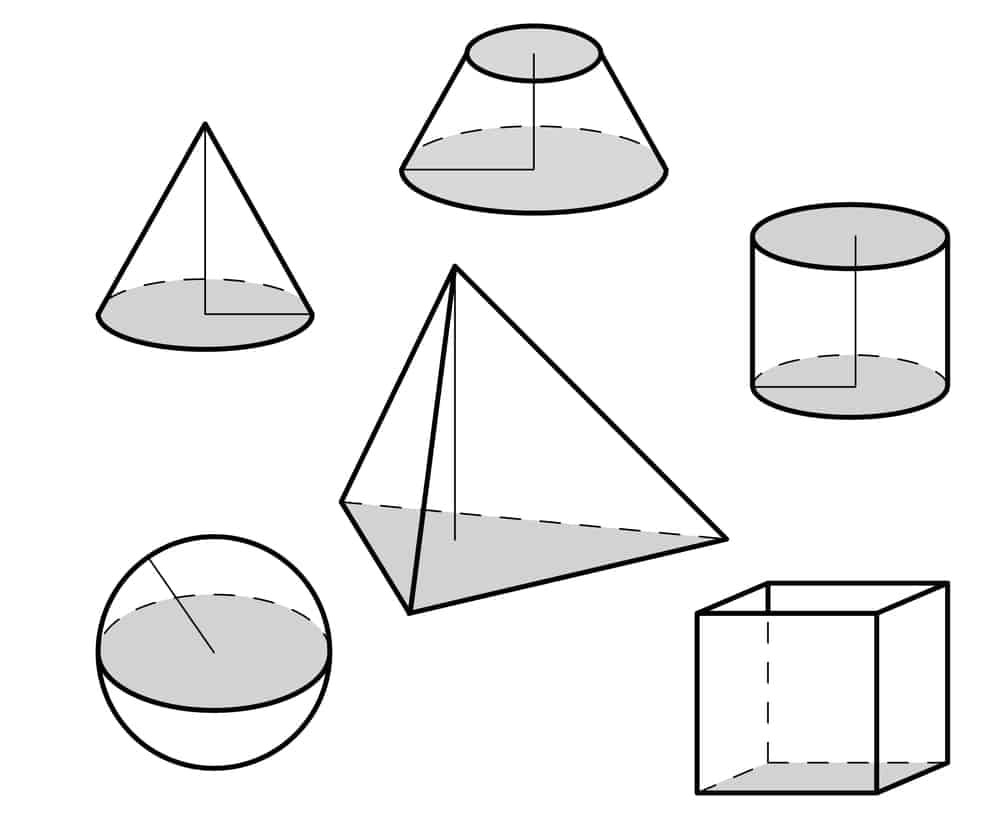Figures with surface area