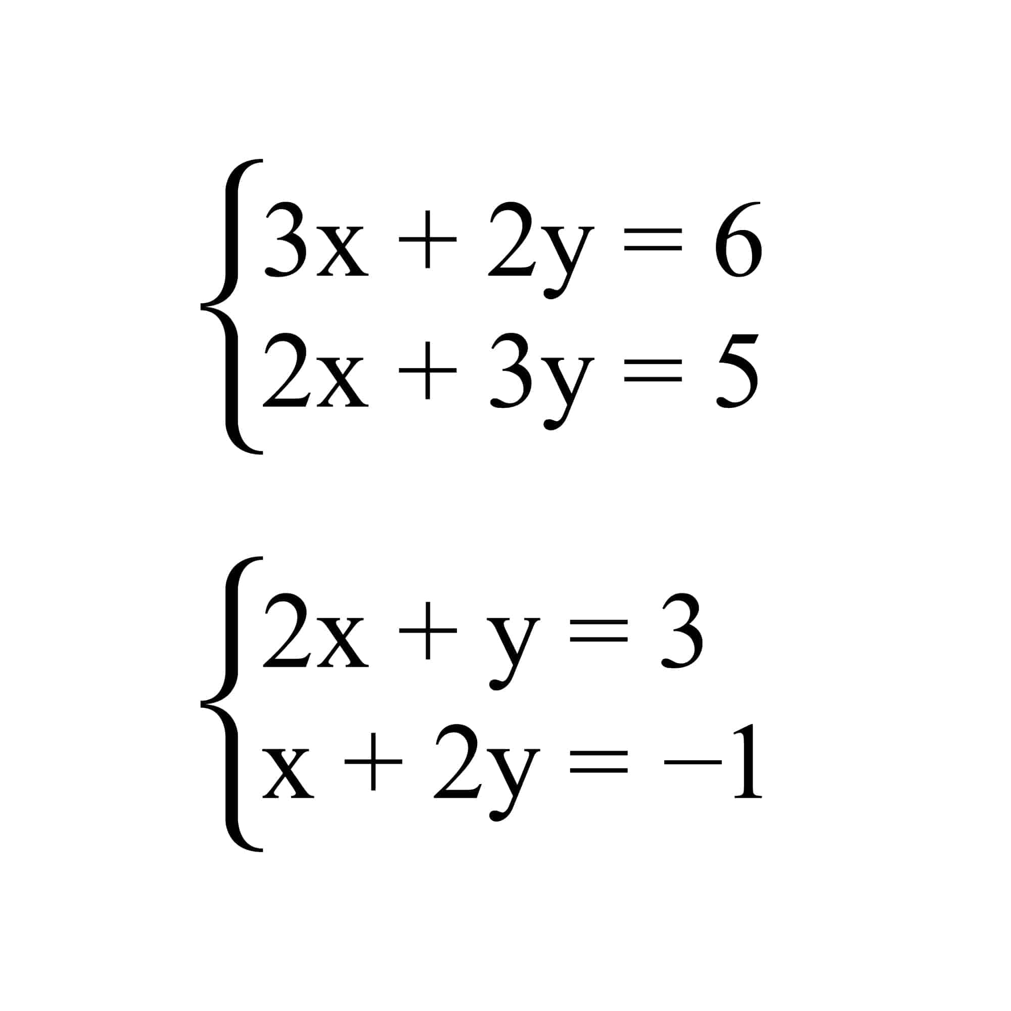 Linear equation