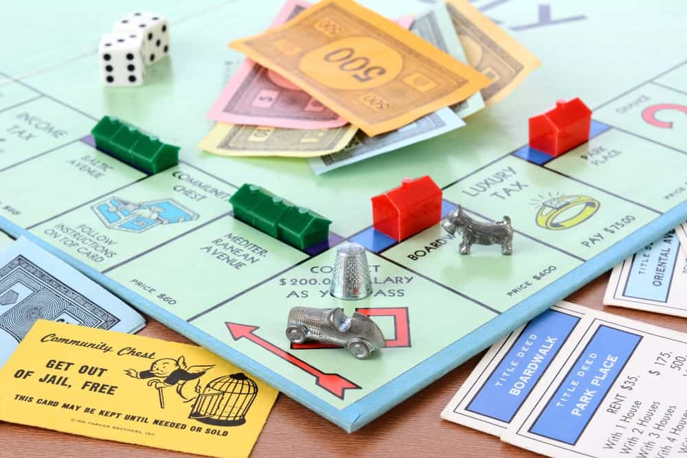 When playing the game Monopoly, you have less than a two-percent chance (to be exact, the chances are 1.15%) of landing on any of the five most valuable properties on your very first roll.