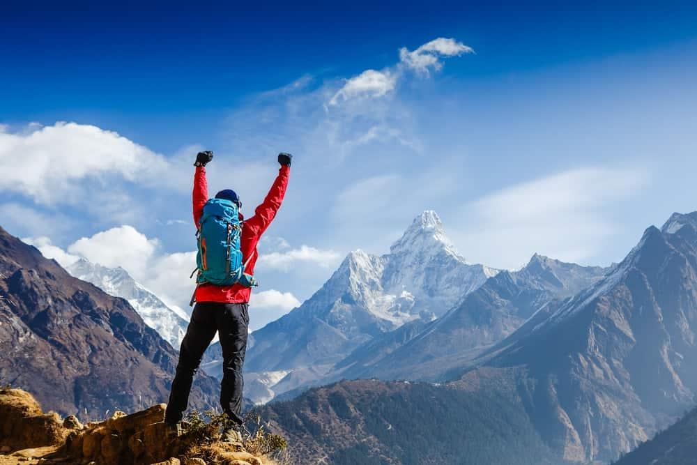 Mountain climbing as an expensive hobby