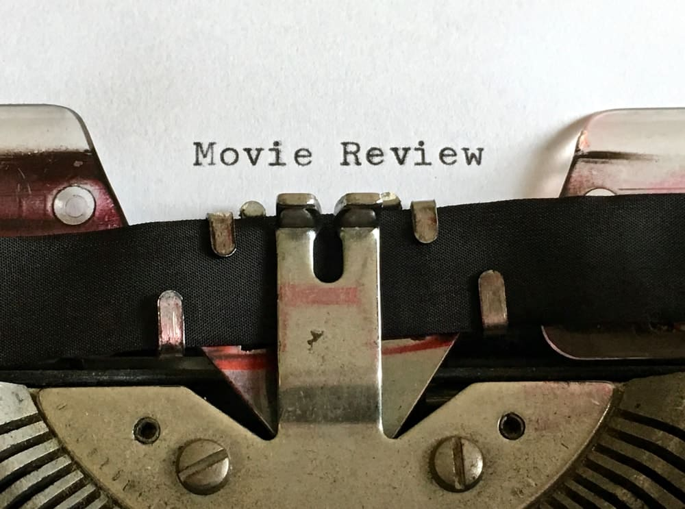 Review articles can be written about movies.