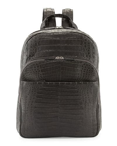 Santiago Gonzalez Caiman Crocodile backpack