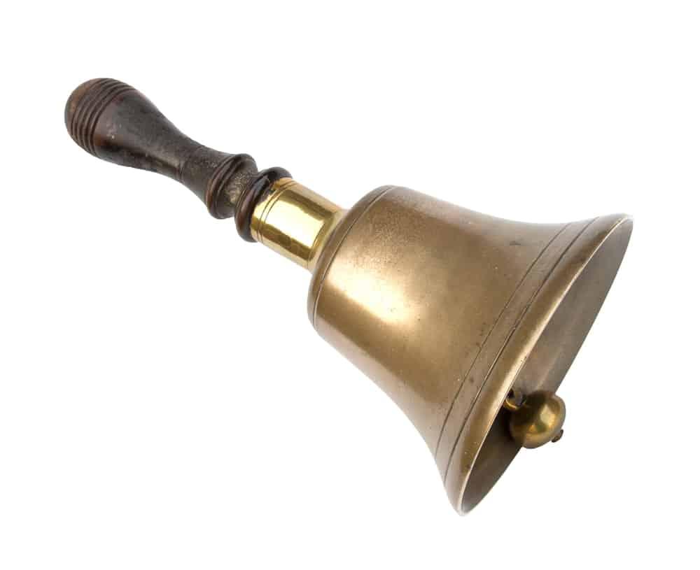 School bell.