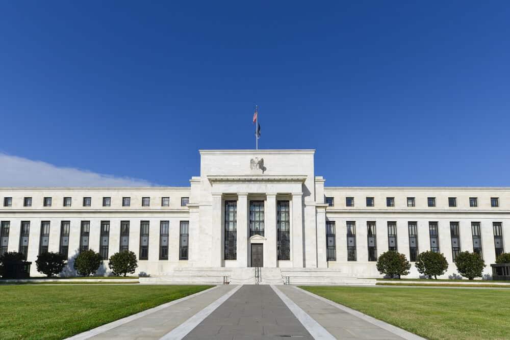 The federal reserve bank building of Washington, USA.